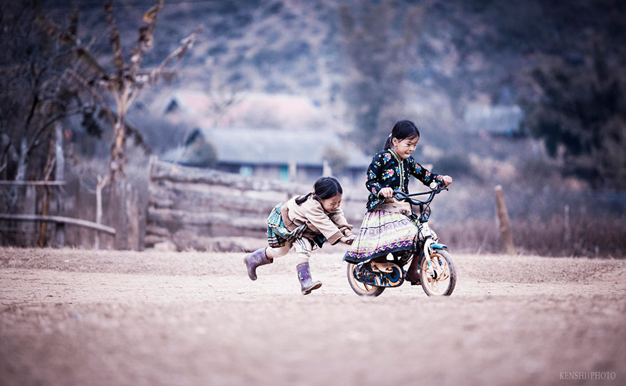 Chidren Playing Around The World 51