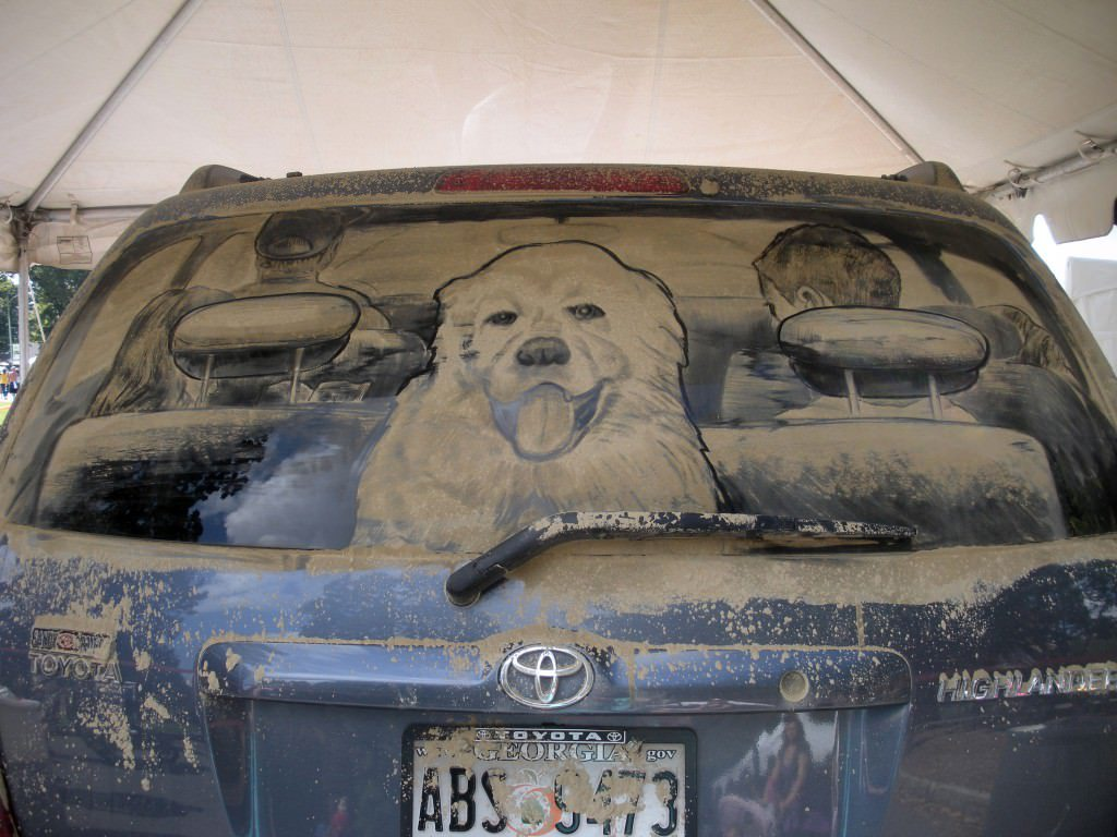 Dirty Car 049