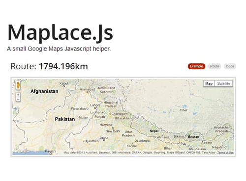 Maplace Google Maps Helper