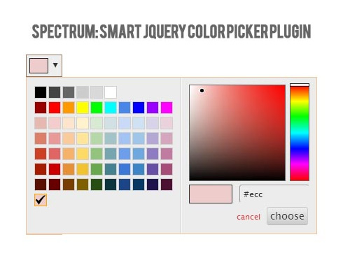 Spectrum Smart Color Picker