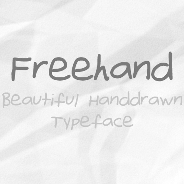 Fonte Freehand