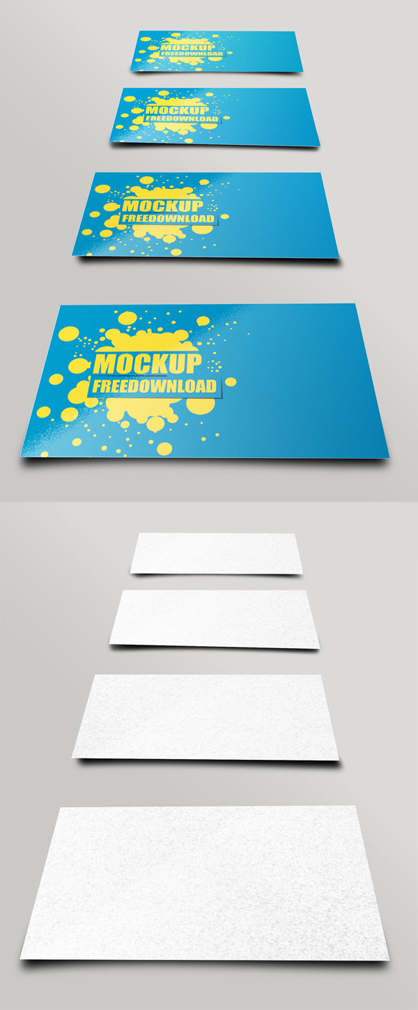 business card mockup 1128d