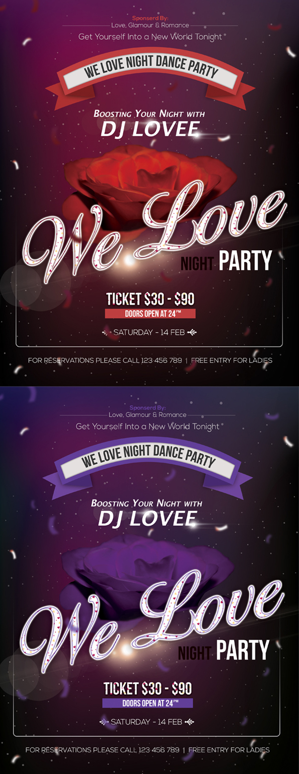 party flyer 604bb