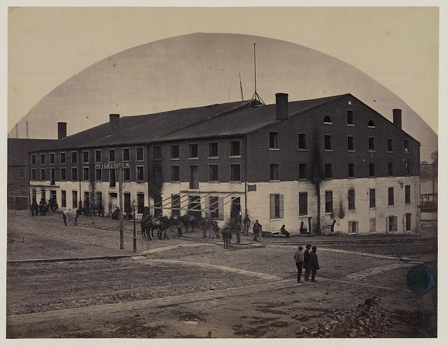 Libby Prison Richmond 1865