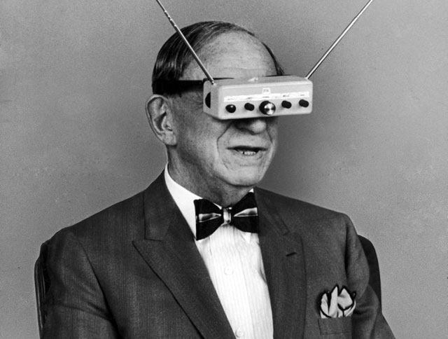 Television Goggles In 1963
