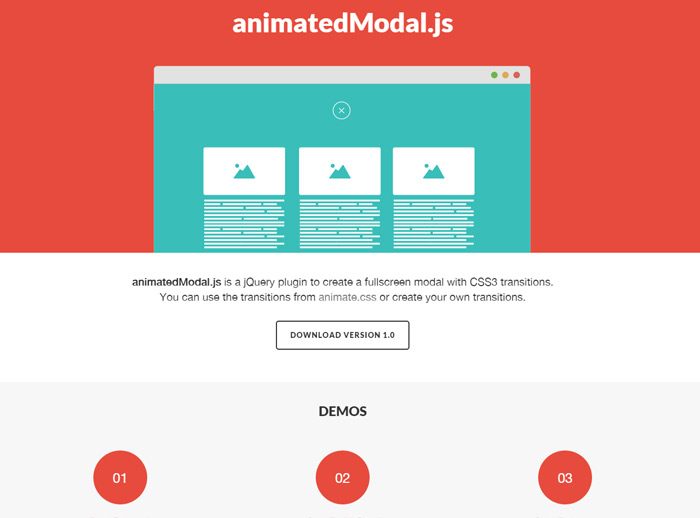 Animated Modal