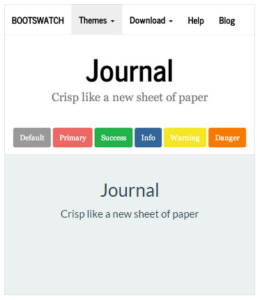 Bootstrap Journal