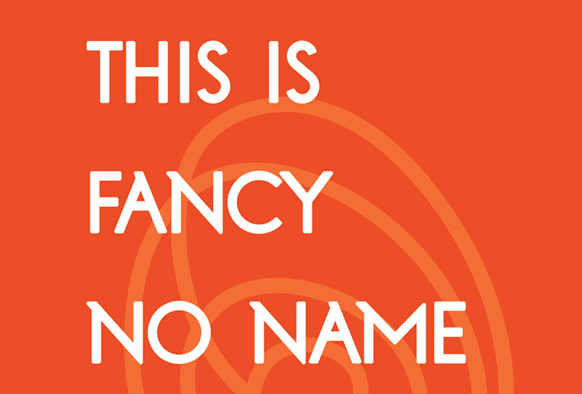 Fancy No Name Grotesk Bold