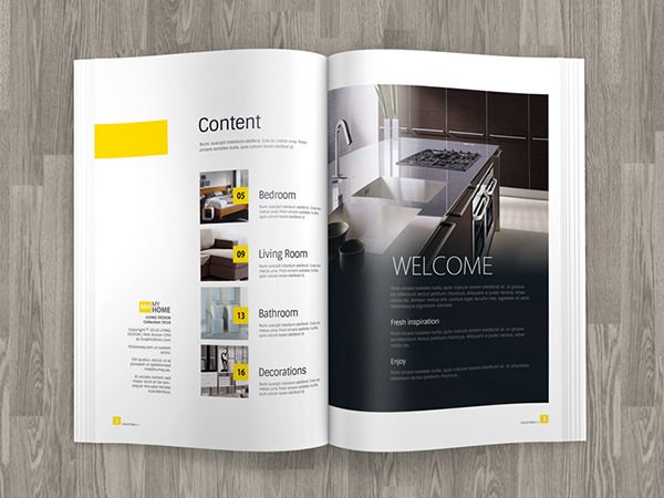 2023969 A4 Brochure Magazine Mock Up