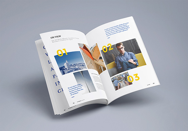 Photorealistic Magazine Mockup 3 Graphicburger