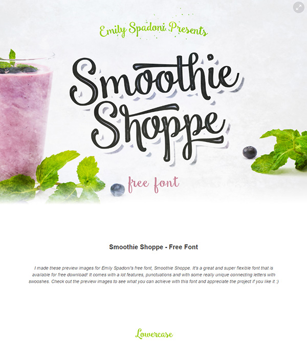 02 Smoothie Shoppe